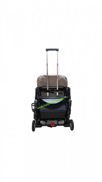 Poze Cărucior sport ultracompact troller Baby Care A8 Capuccino