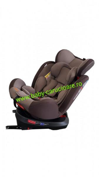 Poze Scaun auto cu isofix 360° Baby Care Brown