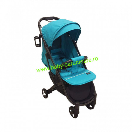 Cărucior sport ultracompact Baby Care S 600 Albastru