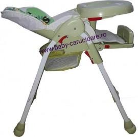 Masă scaun Baby Care CC Verde