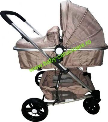 Poze Cărucior nou născut Baby Care 2 in 1 YK 18 Maro