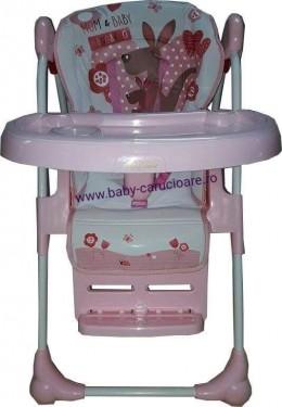 Poze Masa Scaun Baby Care CC Roz