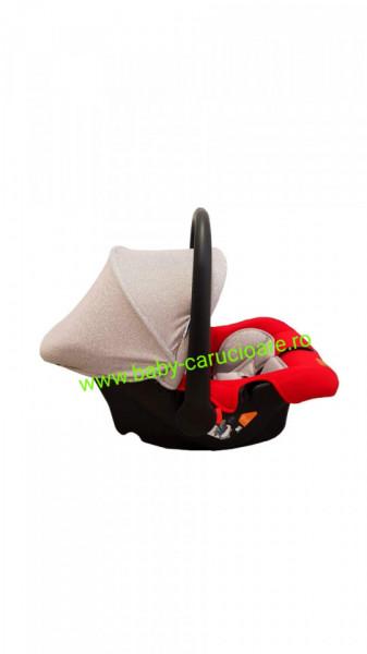 Scaun auto 0-13 kg Baby Care Roșu + Gri