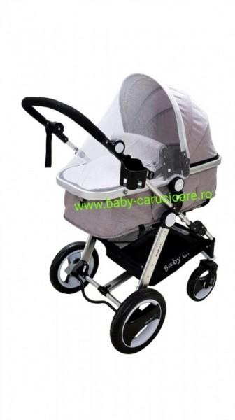 Poze Cărucior nou născut 2 in 1 Baby Care S 535 Grey