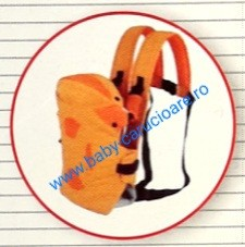 Poze Marsupiu textil multifuncțional Baby Carrier 100 %Safety Portocaliu