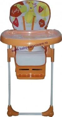 Poze Masă scaun Baby Care CC Portocaliu