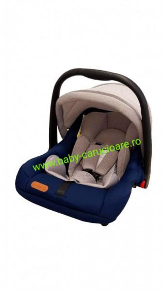Scaun auto 0-13kg Baby Care Albastru + Gri