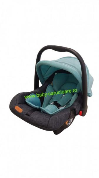 Poze Scaun auto 0-13kg Baby Care Verde Black