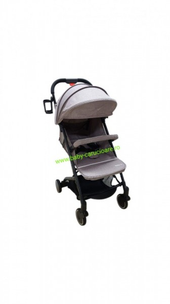 Cărucior sport ultracompact troller Baby Care A8 Capuccino