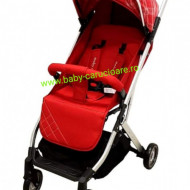 Cărucior sport troller  ultracompact&light Baby Care A 320 Roșu Design