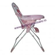 Masă scaun Baby Care CH Roz