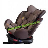 Scaun auto cu isofix 360° Baby Care Brown