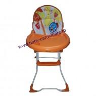 Masă scaun Baby Care CH Portocaliu
