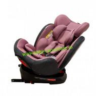 Scaun auto cu isofix 360° Baby Care Purple