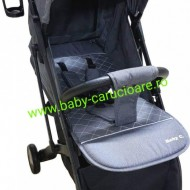 Cărucior sport ultracompact Baby Care S 600 Gri