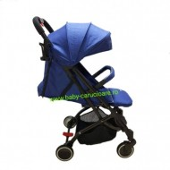 Cărucior sport ultracompact troller Baby Care A8 Albastru