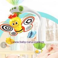 Carusel muzical cu proiecție The Butterfly