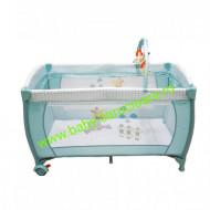 Patut cu fermoar 2 in 1 Baby Care FG Albastru Azur
