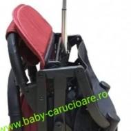 Cărucior sport ultracompact Baby Care S 600 Rosu