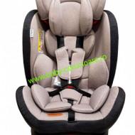Scaun auto cu isofix 360° Baby Care Grey