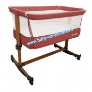 Pătuț CO-SLEEPER cu balansoar Babies(Baby Care)Cranberry Pink