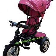 Tricicleta multifuncționala Turbo Bike cu poziție pentru somn Baby Care Purple