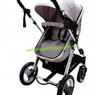 Cărucior nou născut 2 in 1 Baby Care S 535 Grey