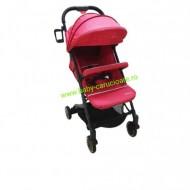 Cărucior sport ultracompact troller Baby Care A8 Rosu