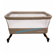 Pătuț CO-SLEEPER cu balansoar Babies(Baby Care)Light Grey