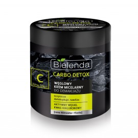 Bielenda Carbo Detox micelarna krema za skidanje šminke 250ml