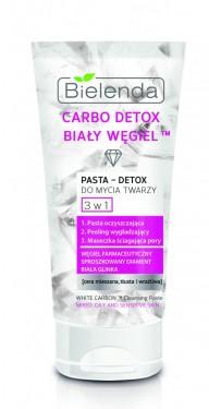 Slika Bielenda Carbo Detox White Carbon pasta za čišćenje lica 3u1 150ml