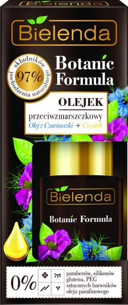 Bielenda Botanic Formula kumin ulje i citrusi protiv bora, ulje za lice 15ml