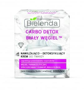 Bielenda Carbo Detox White Carbon, hidratantna krema za detoksikaciju 50ml