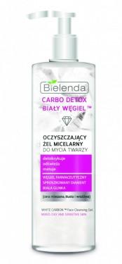 Bielenda Carbo Detox White Carbon aktivni ugalj - micelarni gel 195gr