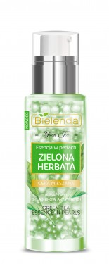 Slika Bielenda Green Tea essenca in pearls serum za lice 30ml