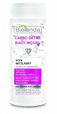 Bielenda Carbo Detox White Carbon micelarna voda sa aktivnim ugljem 200ml