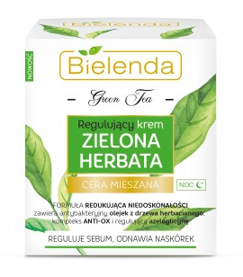 Slika Bielenda Green Tea noćna krema za regulaciju epidermisa 50ml