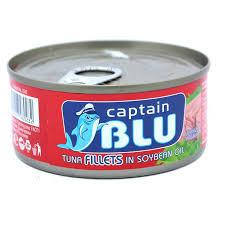 Риба тон филе капитан БЛУ 160г.