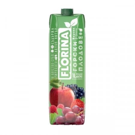 Натурален сок горски плодове Флорина 1л.