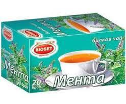 Чай билков мента 30гр. (20бр.филтърни пакетчета)