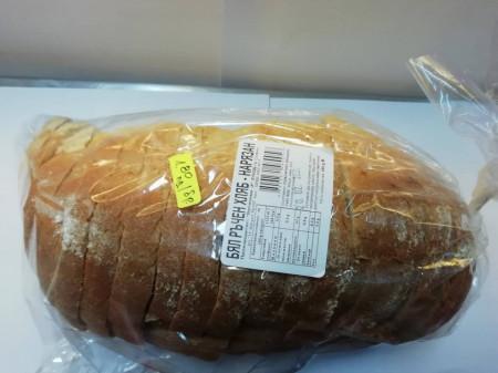 Бял ръчен хляб нарязан 650г.