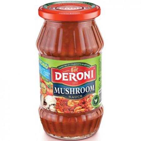 Гъбен сос за спагети Дерони 310гр.