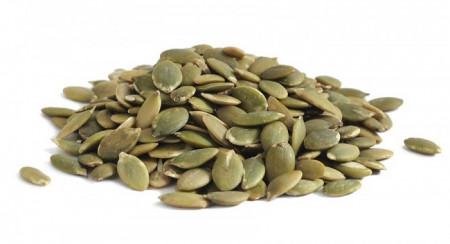 Тиквени семки сурови белени 100гр.