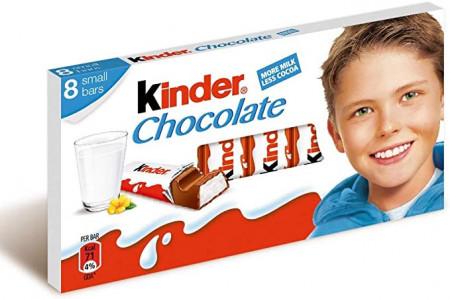 Киндер шоколад 8бр. 100гр.