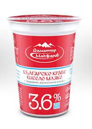 Кисело мляко Димитър Маджаров 3,6% 400гр.
