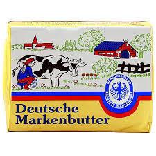 Немско масло Markenbutter 250 гр. 82%