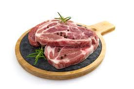 Свинска вратни пържоли без кост 500гр.