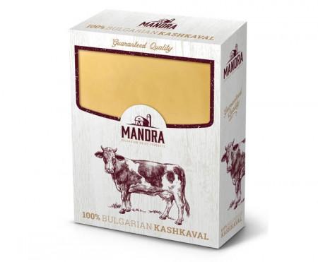 Краве кашкавал Mandra 450гр.