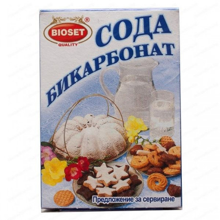 Сода бикарбонат 80гр.