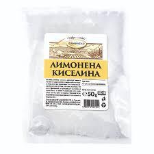 Лимонена киселина плик ФАМИЛЕКС 50g